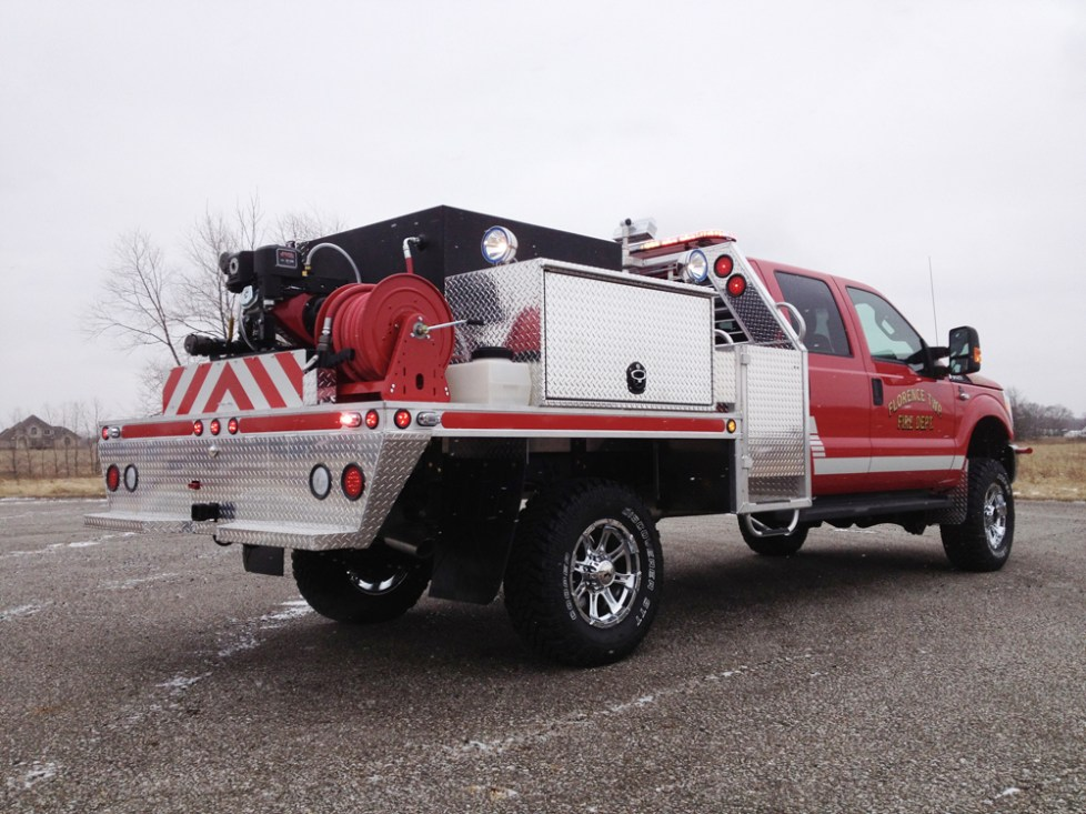 back passenger angle- Florence Township Fire Department