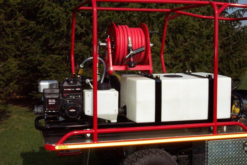 fire fighting equipment- Allison