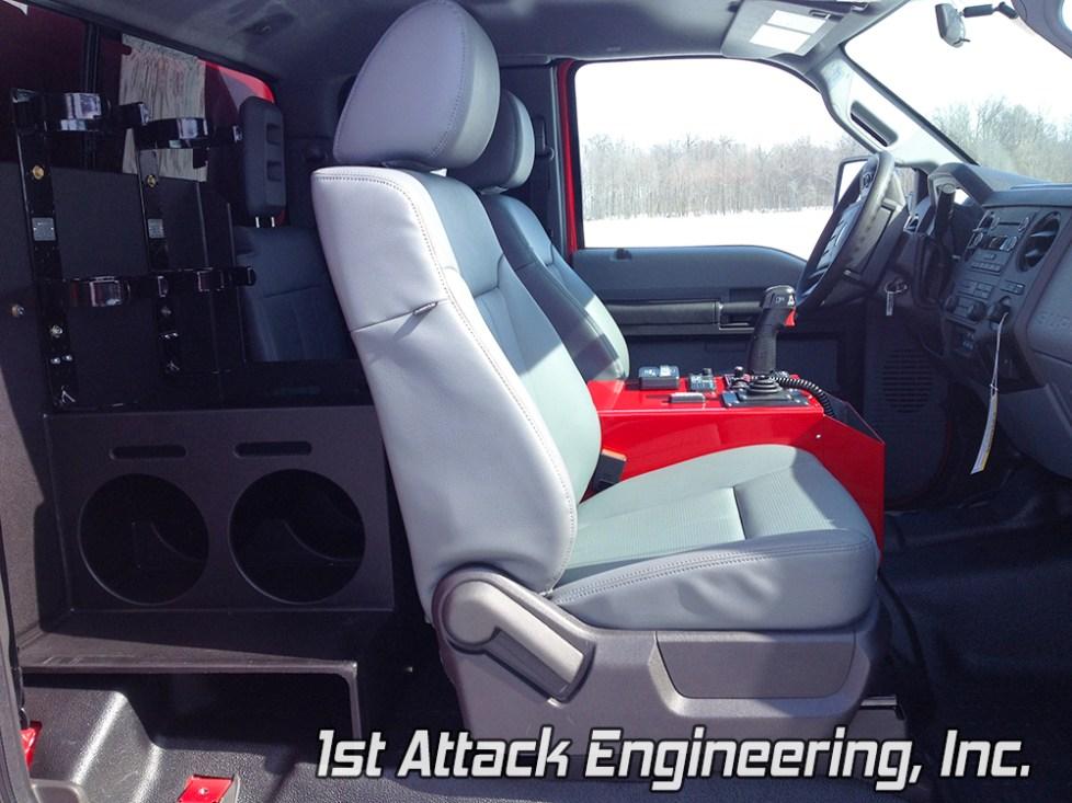 interior cab- Springfield Fire Department