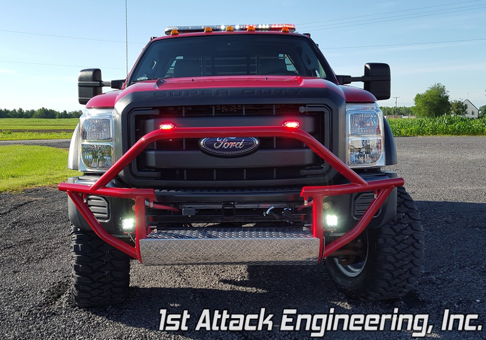 removable front brush guard- Turkey Creek Fire Department