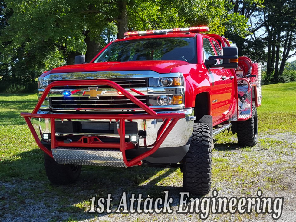 Front brush guard for Harlem-Roscoe Fire Department