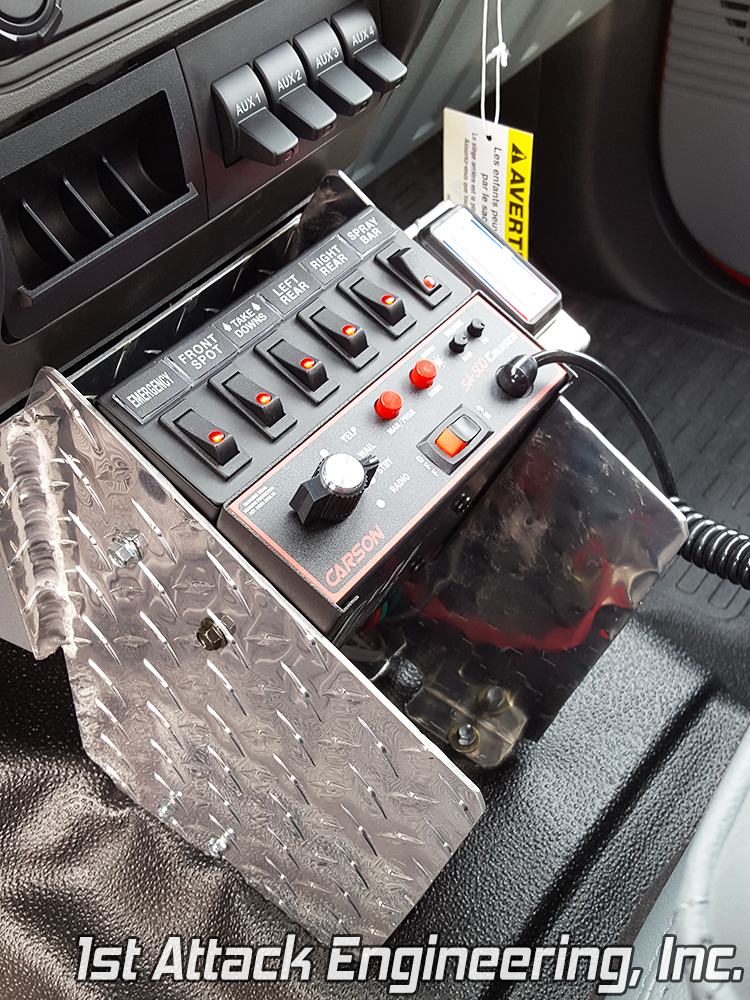 Pinehurst Fire Department- Center Console