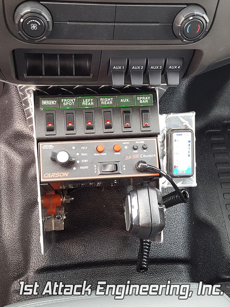 Harrell Fire Department Control Console