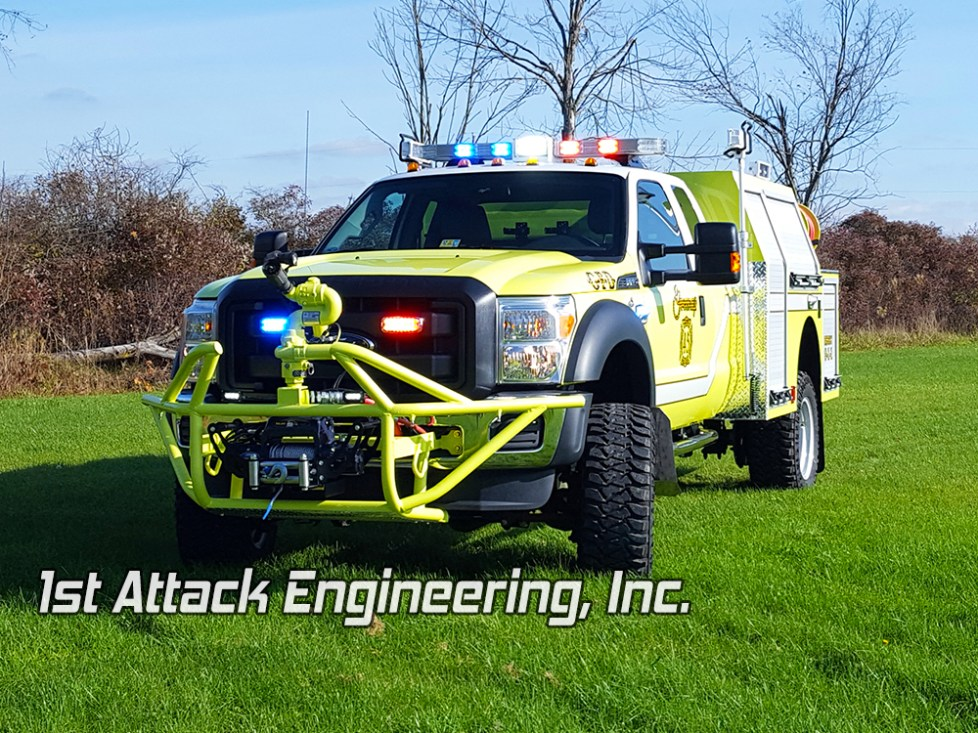 Greenup Fire Department custom brush fire truck