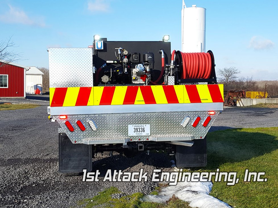 Aluminum Flatbed Boone Grove FIre Department 1st Attack Engineering