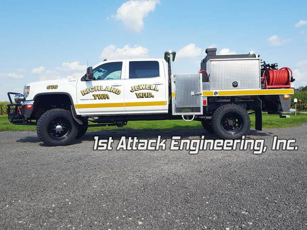 Richland Jewell Fire Dept 1st Attack Engineering