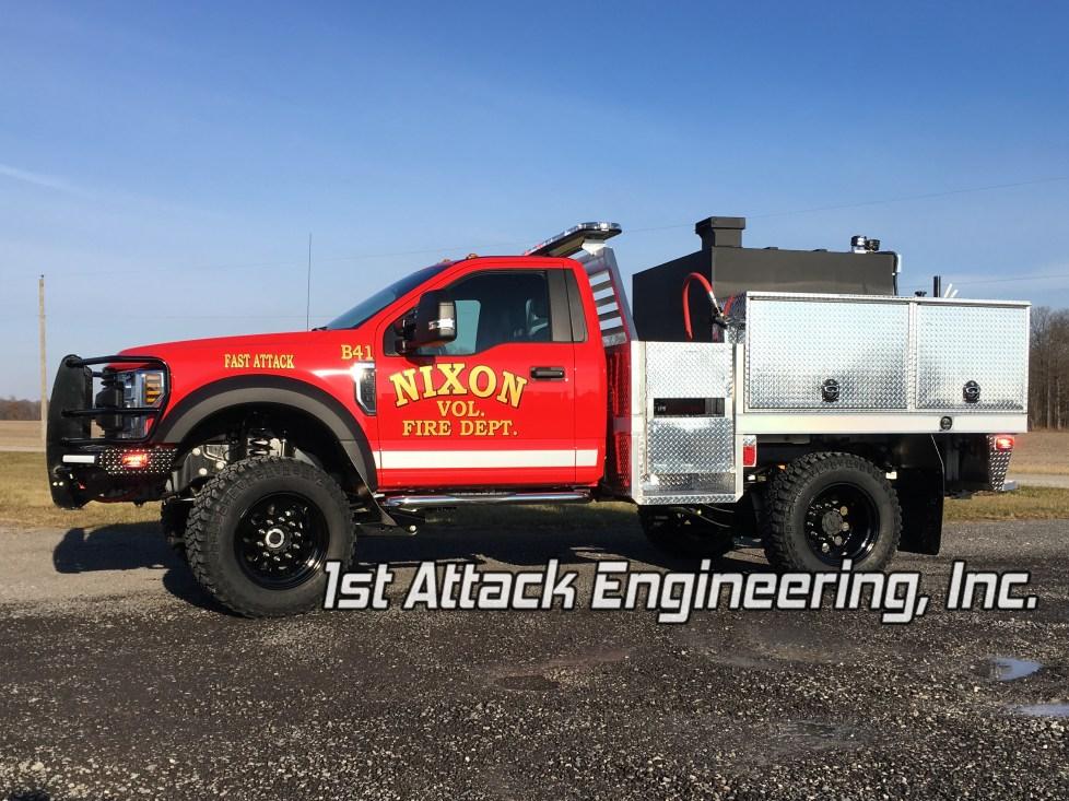Aluminum Flatbed Truck Driver Side