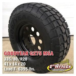 goodyear super single wheels