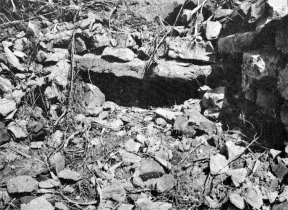 However, the battleship missed this 25mm machine gun position. A squad from Able Company attacked and cleared this position themselves on D+1.