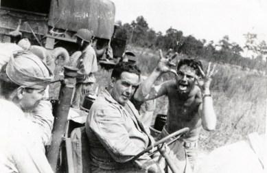 Photobombing, circa 1943.
