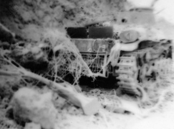 Japanese tanks, while inferior to their American counterparts, could still pose a serious threat to infantry Marines.