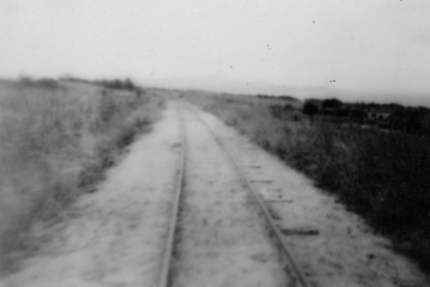 Saipan featured a narrow gauge railway line, used mostly for transporting materiel to and from the sugar mill of Charan Kanoa. It became an item of interest for Marines...