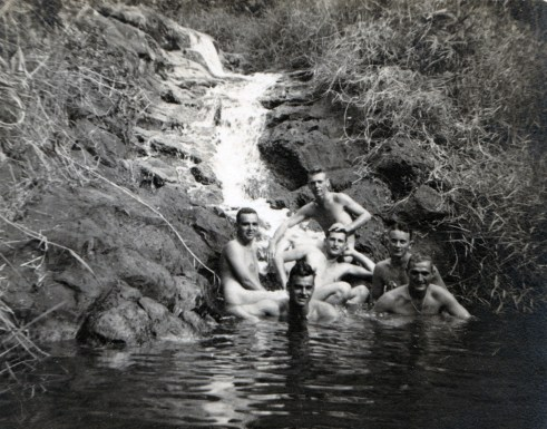 A skinny dipping expedition.