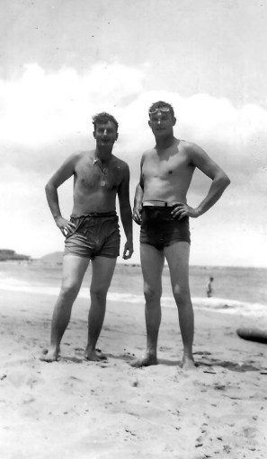 """""""One of the finest beaches."""" Klauss and Martin Middlewood."""