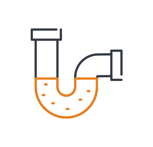 1st call heating & drainage - Bathroom blockages icon