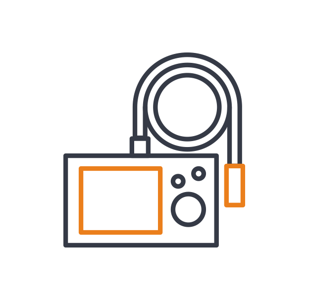 1st call heating & drainage - Camera inspections icon
