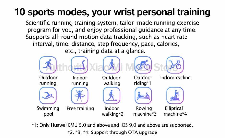 Original Huawei Honor Band 5 Smart Wristband Oximeter Touch Screen Magic Color Swim Heart Rate Detect Sleep Nap Honor Band 5