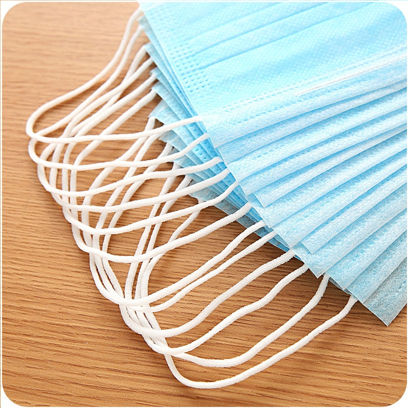 50Pcs 3-Ply Anti-Dust Face Mouth Masks Prevent dust smog sterilize breathable health beauty medical Disposable Surgical Medical