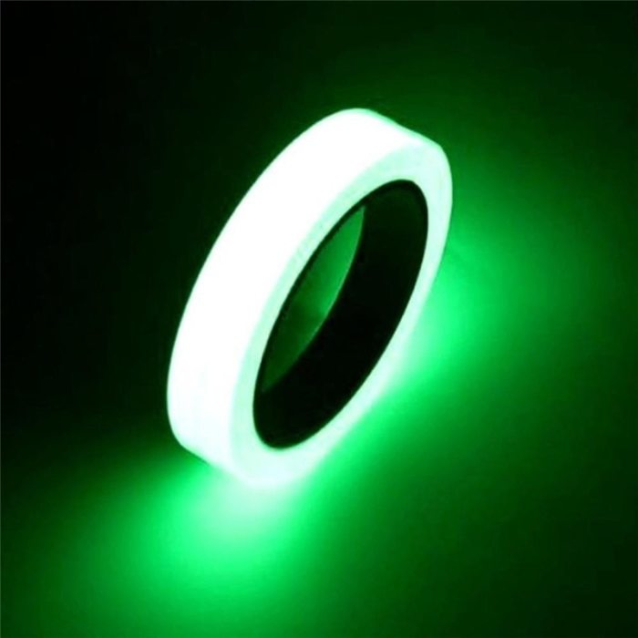 Reflective Tape Camping Equipment Hiking Accessories Outdoor Tools Safety Car Stickers Light Luminous Warning Glow Night Tapes