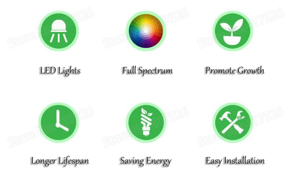 Growing Lamp 150W UFO Led Grow Light Full Spectrum 50ledsx3W Fitolamp Grow Box For Hydroponic Garden Greenhouse Indoor Plants