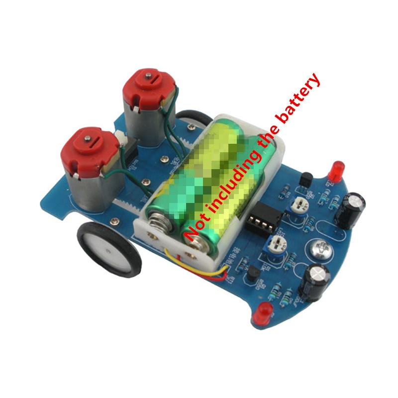 DIY Kit D2-5 Intelligent Tracking Line Car Suit Motor Electronic Assembly Smart Patrol Smart Automobile Parts