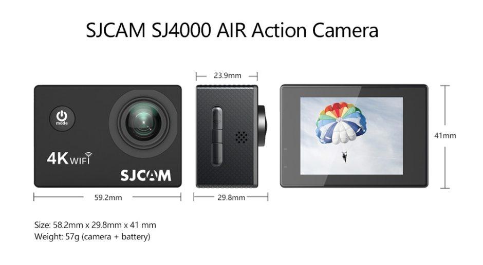 Full HD Waterproof Sports AIR Action Camera SJCAM SJ4000