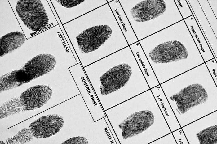 Fbi Fd258 Fingerprint Cards 1st Choice Finger Printing