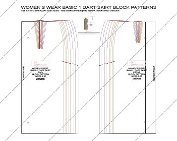 Pattern Making Blocks As Pdf Downloads 1st Class Patterns
