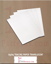 A3, A4 OR ON THE ROLL TRACING PAPER TRANSLUCENT