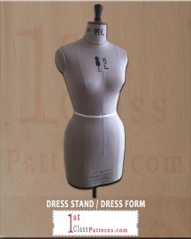 professional dress stand