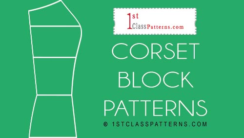 new block pattern corset