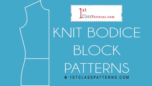 new block pattern knits bodice