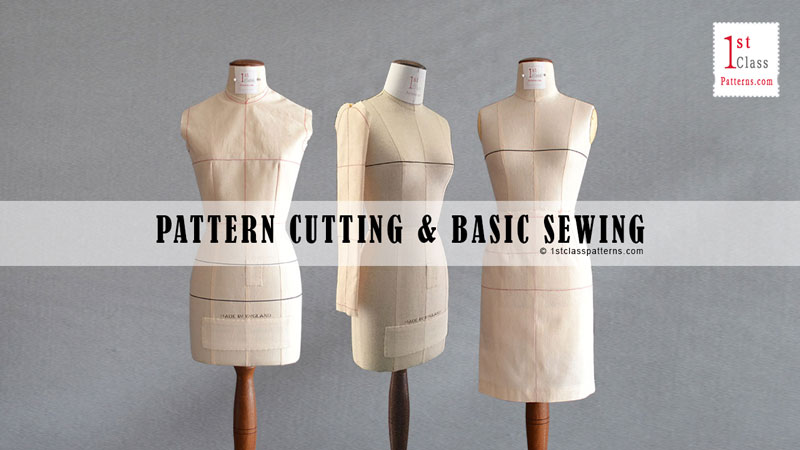 Pattern cutting & sewing course - beginners