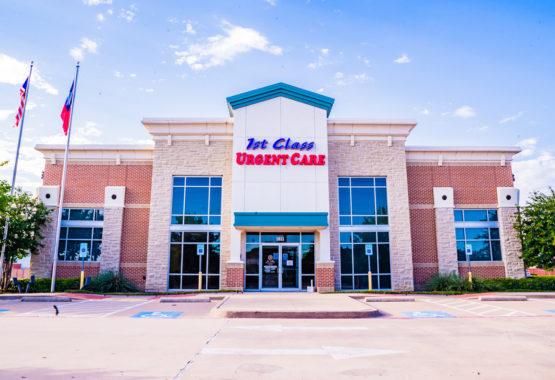 1stclass Urgent Care Allen Office Front
