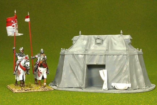 28mm Large medieval tent 02