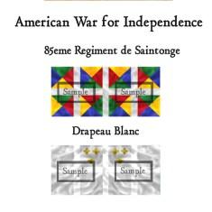 AWI/FRE/001 85eme Regiment de Saintonge