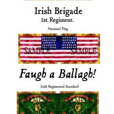 ACW/UN/001 Irish Brigade. 1st Regiment
