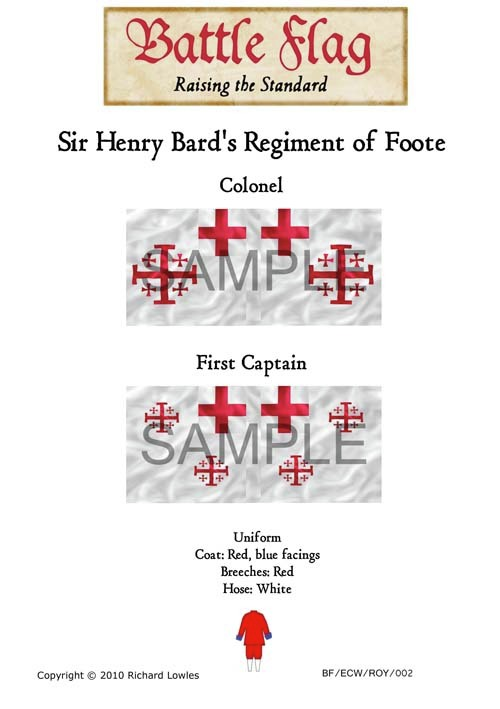 ECWROY002 Sir Henry Bard's Regiment of Foote