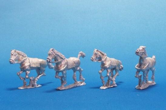 Celtic - Germanic- Tarantine horse