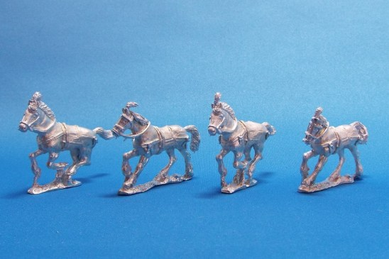 28mm Indian cavalry horses.