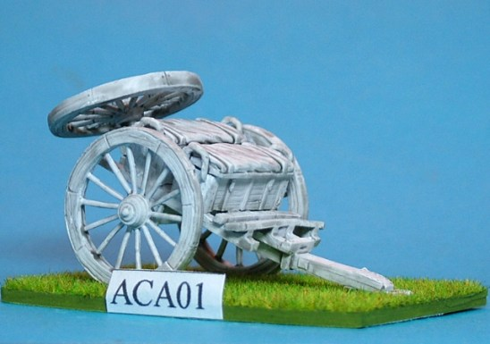28mm American Civil War Artillery Ammunition Caisson.