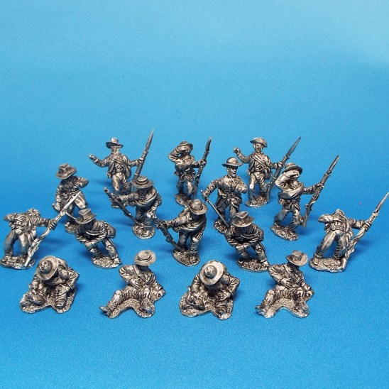 28mm ACW casualties in slouch hat