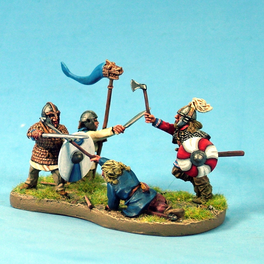 Curteys Miniatures Romano British Casualties,Arthurian,Dark Ages 28mm