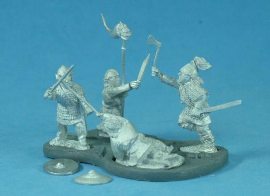 Arthurian Romano British and Saxon Vignette