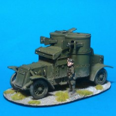 1/48 28mm ww1 Austin Armoured Car V2