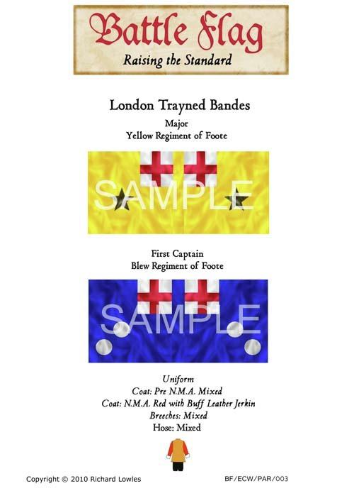 ECW/PAR/003 London Trayned Bandes Yellow Regiment