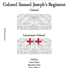ECW/PAR/011 (C) Colonel Samuel Joseph's Regiment of Foote Colon
