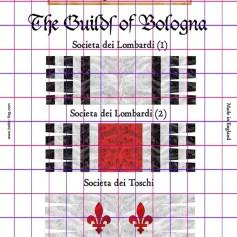 BF/CON04 Bologna Guilds Plate I
