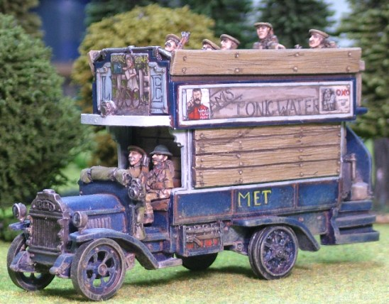 28mm 1/48 ww1 british tommy Bus