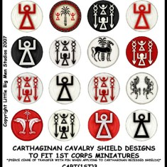 Ass Round cavalry designs.